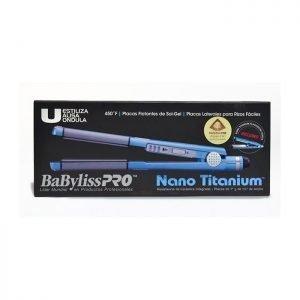 "Juego De Planchas Babyliss Pro Nano Titanium 1 1/4"" + 1"""