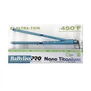"""Plancha de Cabello Babyliss Pro Nano Titanium Ultra Delgado 2"""""""