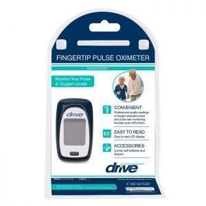 Oximetro de Pulso Drive Para Niños Y Adultos