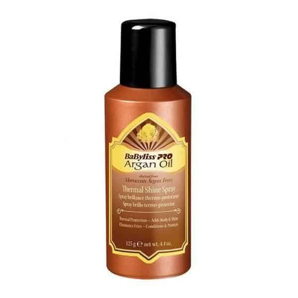 Spray Brillo Termoprotector Babyliss Aceite De Argan