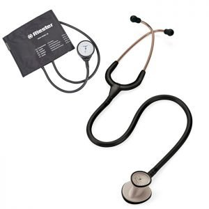 Kit Estetoscopio Littmann Lightweight Y Tensiometro Riester
