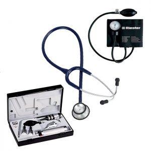 Combo Riester Estetoscopio, Tensiometro Y Set De Diagnostico