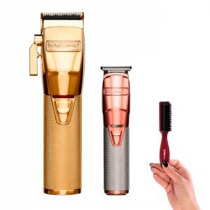 Combo Cortadoras Babyliss Pro Gold Fx Y Rose Gold Fx Timmer
