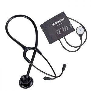 Combo Black Riester Estetoscopio Y Tensiometro