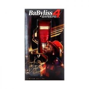 Cortadora De Cabello Babyliss Pro 4 Barbers Rojo Fx
