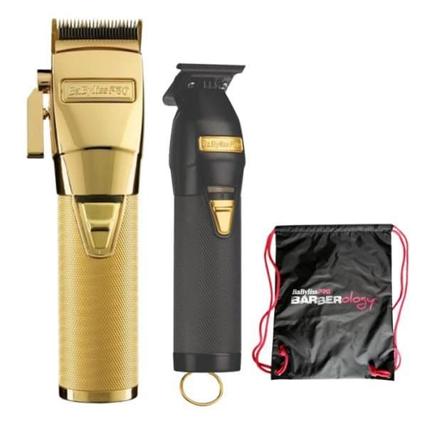 Combo Cortadora Babyliss 4 Barbers Gold Fx Y Skeleton Fx