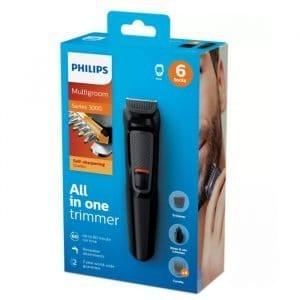 Recortador Philips Recargable Multigroom Barba/oído/nariz