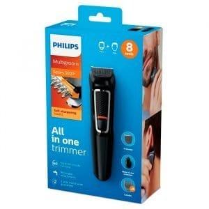 Afeitadora Philips Multigroom Series 3000 8 En 1