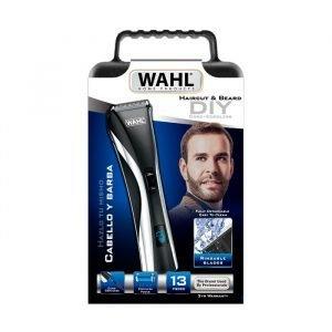 Cortadora De Cabello Wahl Haircut & Beard Cord/cordless Lcd